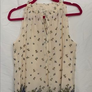 Max Studio Floral Blouse, Size Small, NWT